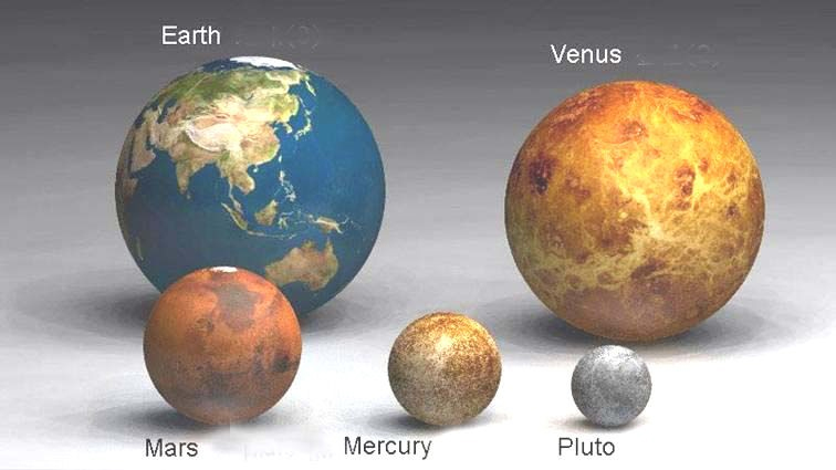 Pluto to Earth